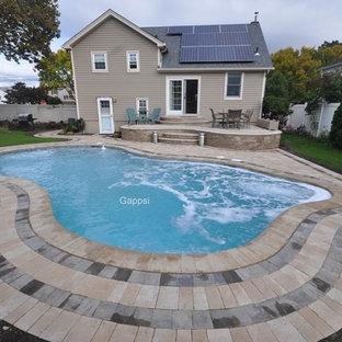 Freeform Gunite Swimming Pool, Massapequa NY 11758, by Gappsi