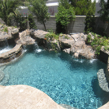 Freeform Pool & Spa - Silverado Springs - Las Vegas, NV