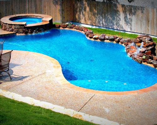 Best Freeform Pool Design Design Ideas & Remodel Pictures | Houzz