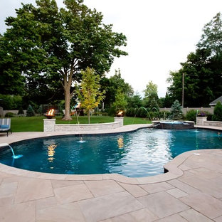Freeform Pool in Downers Grove, IL