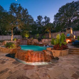 Idéer för en stor exotisk pool
