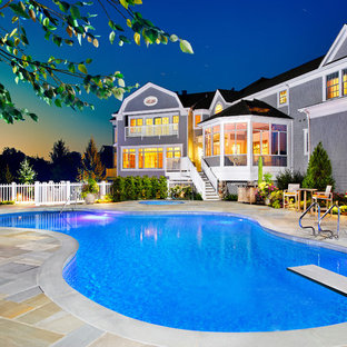 Example of a classic pool design in Chicago