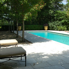 Traditional Pool by Paul Maue Associates Landscape Architects