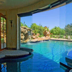 Los angeles indoor pool swimming pool design ideas for Pool design los angeles