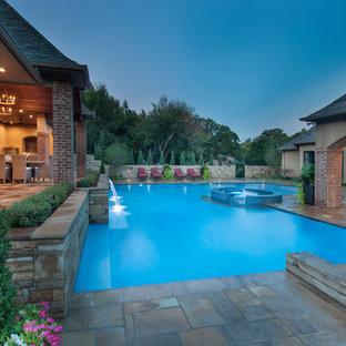 French Inspired Formal Pool