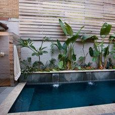 Modern Pool by Bockman + Forbes Design