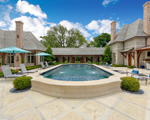 Elevated swimming pool home design ideas pictures for Raised pool ideas
