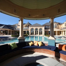 Traditional Pool by Arc Design Group