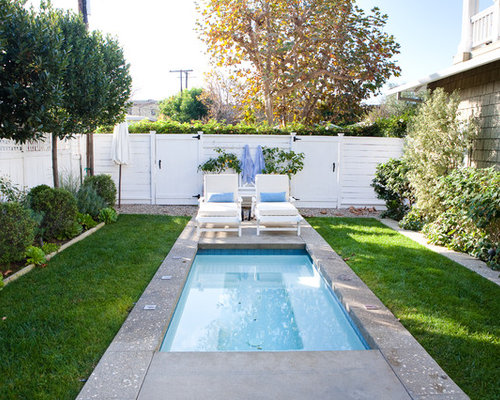 Best Small Pool Ideas Decoration Pictures Houzz - Backyard swimming pool ideas