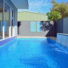 Contemporary Pool by Jennie Hunt