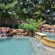Traditional Pool by RSVP Design Services