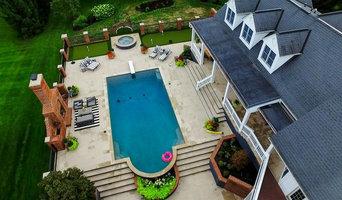 Full Backyard Landscape - Drone Footage