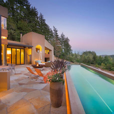 Contemporary Pool by Riptide Construction