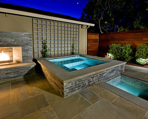 Elevated hot tub ideas pictures remodel and decor for 701 salon sacramento