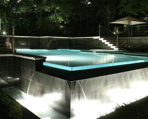 Gallery infinity zero edge pools - Invisible edge pool ...