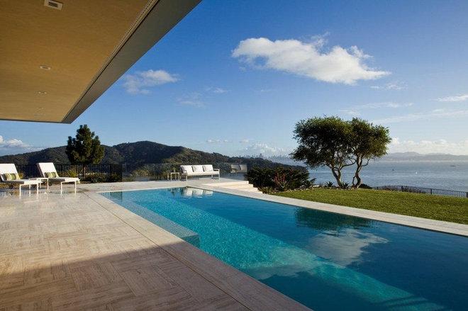 Beach Style Pool by Jamba Construction