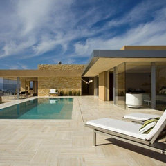 modern pool by Jamba Construction