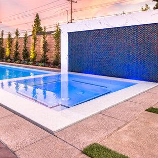 Garden Grove White Pool Design