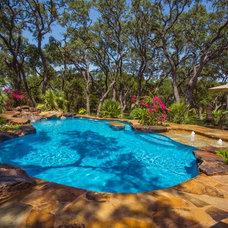 Tropical Pool by Artesian Custom Pools, INC
