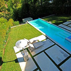 Contemporary Pool by RBK Architects