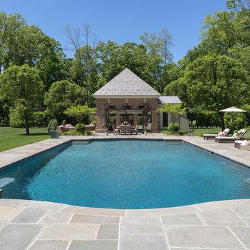 Georgian Pool House
