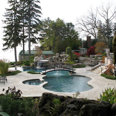 Eclectic Pool by Gib-San Pools Ltd.