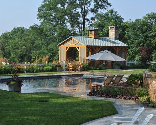 70+ Best Farmhouse Pool Ideas | Houzz