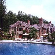 Traditional Pool by Zampolin Robert E & Associates