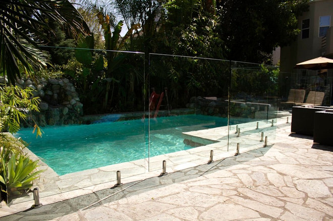 Eclectic Pool by StyleGuard Systems