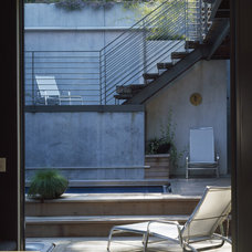 Contemporary Pool by Outer space Landscape Architecture