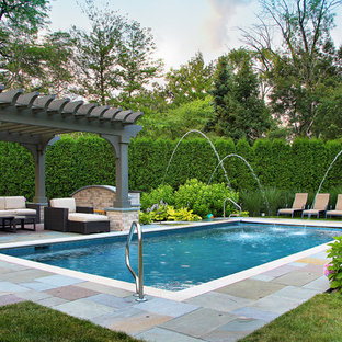 Glencoe French Chateau - Formal Pool and Landscape