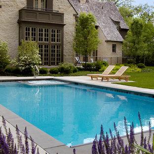 Glencoe, IL Swimming Pool with Interior Spa