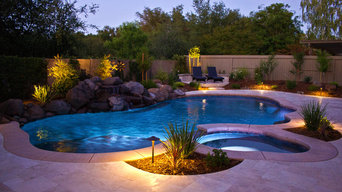 Gold river extensive pool and landscape remodel