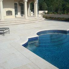 Mediterranean Pool by Rhodes Architectural Stone