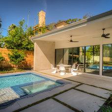 Contemporary Pool by Mirador Group