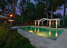 What kind of lights are you using around the pool