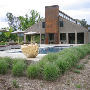 Grasses and Bocce Court