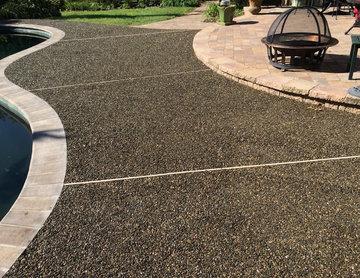 Gravel Lok surface overlay