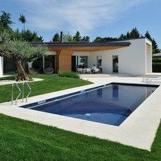 Modern Pool by Tollot&C LLC.