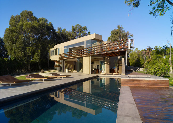 Contemporary Pool by Griffin Enright Architects