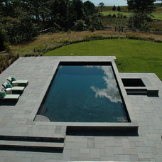 Contemporary Pool by Easton Pool & Spa - Where great backyards begin!