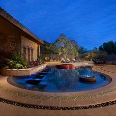 Southwestern Pool by Bianchi Design