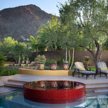 Hacienda Modern - Pool with Vanishing Edge Spa