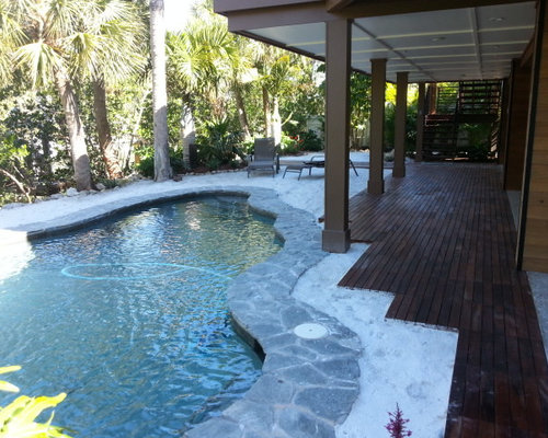 Asian tampa pool design ideas remodels photos for Pool design tampa