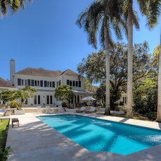 Tropical Pool by Mackle Construction