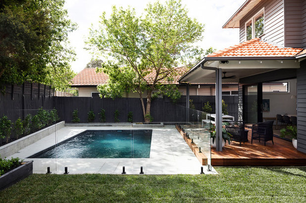 Contemporary Pool by Bask Interiors