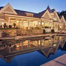 Traditional Pool by Hendel Homes