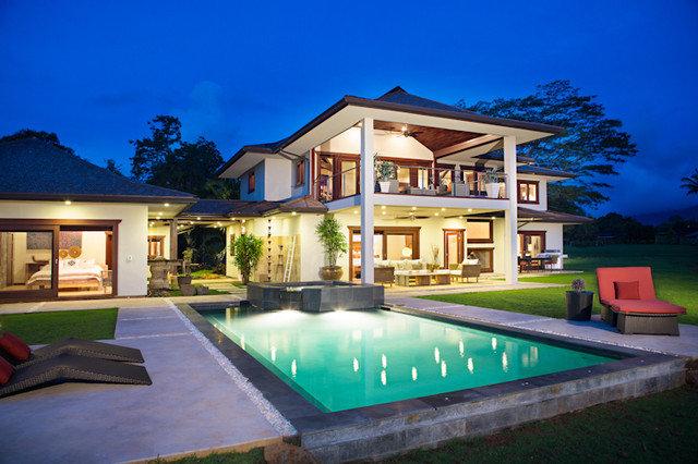 Asian Pool Hanalei Bay Vista Estate
