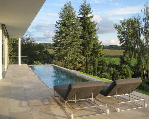 moderner pool in stuttgart - Pool Design Ideen Bilder