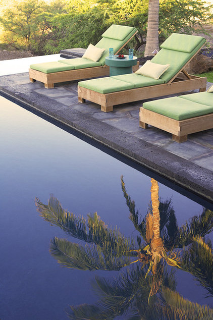 contemporary pool by Dara Rosenfeld Design